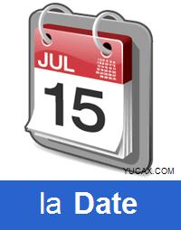la fecha en francés